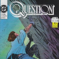 Cómics: QUESTION Nº 36. DENNIS O´NEIL.EDICIONES ZINCO. AÑO 1988. Lote 208073357