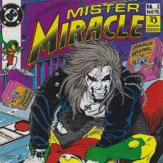 Cómics: MR. MIRACLE 2 Y 3. MAGNIFICO CROSSOVER DE MISTER MILAGRO CON LOBO PUBLICADO POR EDICIONES ZINCO 1990. Lote 208074245