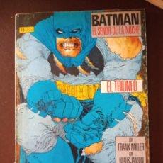 Cómics: BATMAN : EL REGRESO DEL SEÑOR DE LA NOCHE #2 (EL TRIUNFO). Lote 208156985