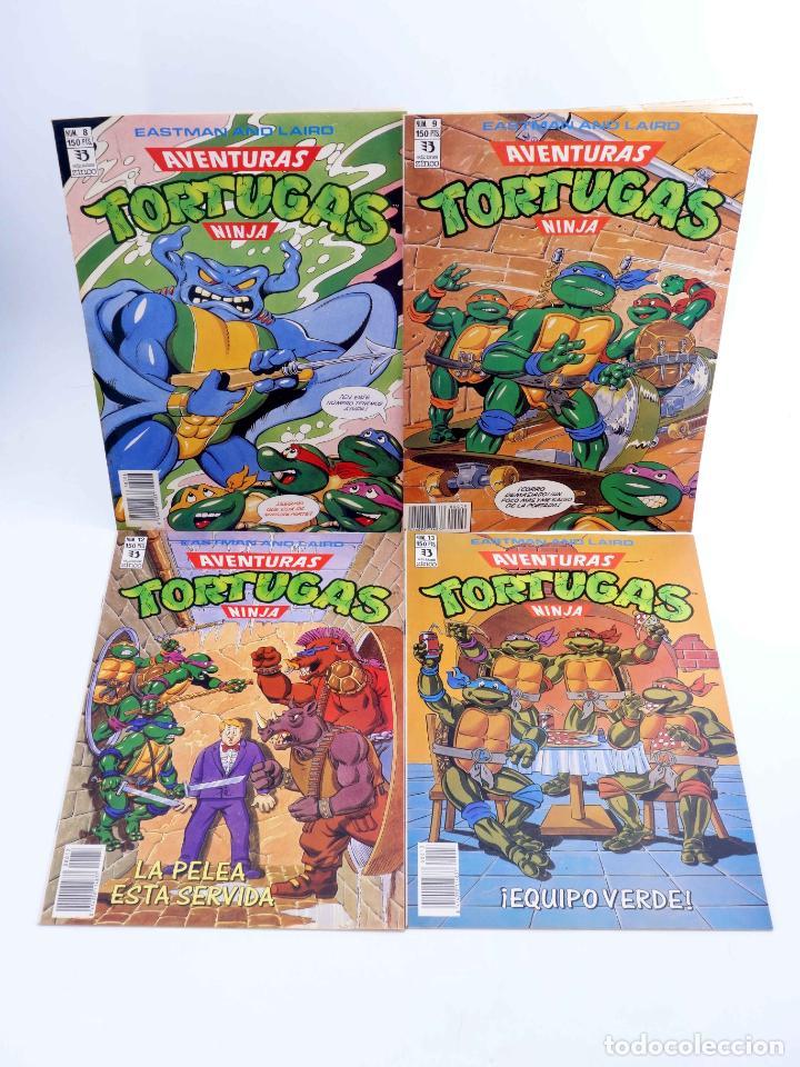 Cómics: AVENTURAS TORTUGAS NINJA LOTE DE 14 NÚMEROS. VER LISTA (Vvaa) Zinco, 1990. OFRT - Foto 3 - 269443573