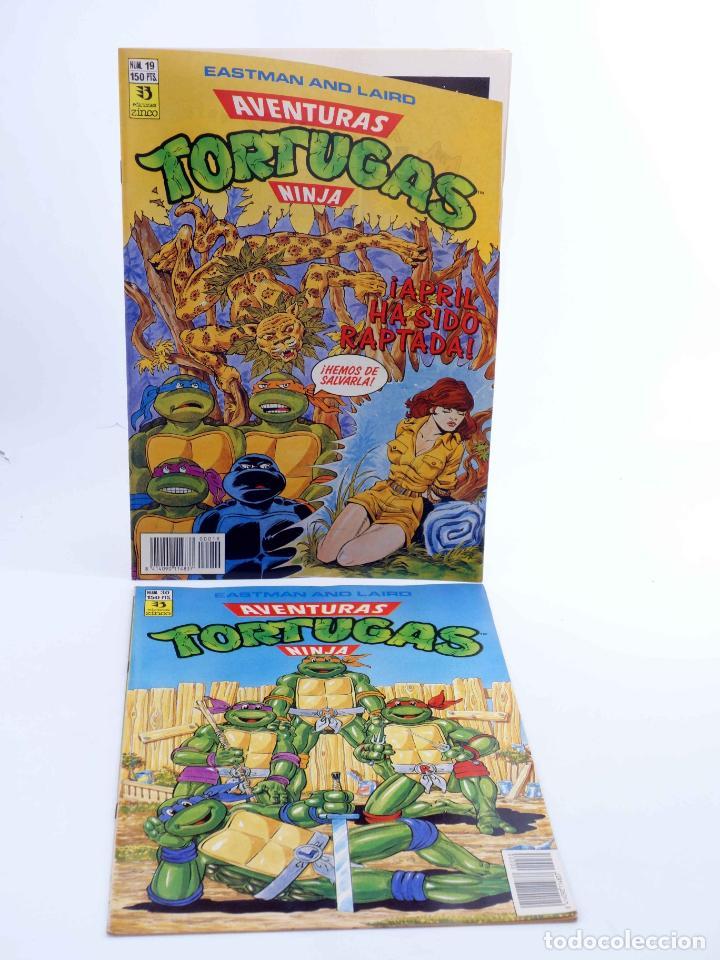 Cómics: AVENTURAS TORTUGAS NINJA LOTE DE 14 NÚMEROS. VER LISTA (Vvaa) Zinco, 1990. OFRT - Foto 5 - 269443573