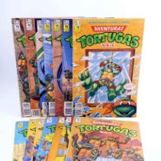 Cómics: AVENTURAS TORTUGAS NINJA LOTE DE 14 NÚMEROS. VER LISTA (VVAA) ZINCO, 1990. OFRT. Lote 208203575