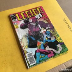 Cómics: LEGION 91. LOTE DE 2 NUMEROS (VER DESCRIPCION) EDITORIAL ZINCO AÑO 1991. Lote 208232896