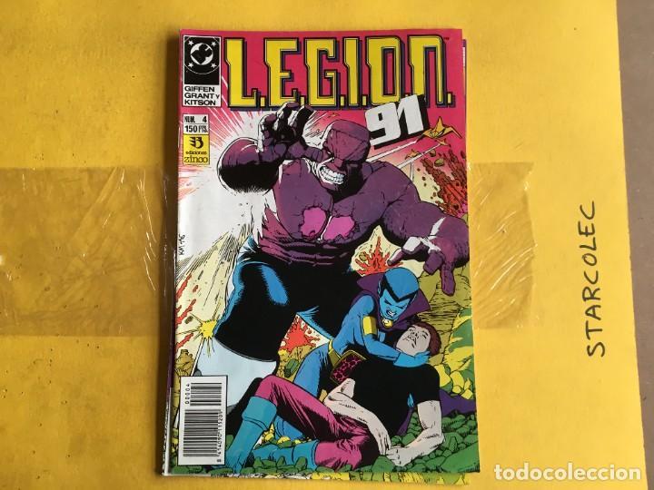 Cómics: LEGION 91. LOTE DE 2 NUMEROS (VER DESCRIPCION) EDITORIAL ZINCO AÑO 1991 - Foto 2 - 208232896