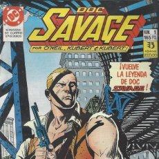 Fumetti: DOC SAVAGE - 4 NºS - SERIE COMPLETA - KUBERT / O'NEIL - MUY BUEN ESTADO. Lote 208350071