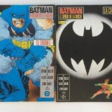 Comics : BATMAN: EL REGRESO DEL SEÑOR DE LA NOCHE DE FRANK MILLER Y LYNN VARLEY. COMPLETA. EDICIONES ZINCO.. Lote 208936287