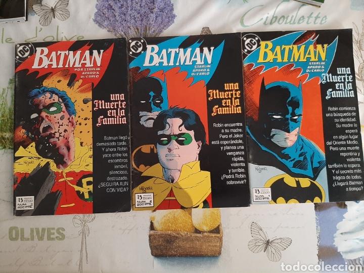 BATMAN UNA MUERTE EN FAMILIA COMPLETA 3 VOLÚMENES (Tebeos y Comics - Zinco - Batman)
