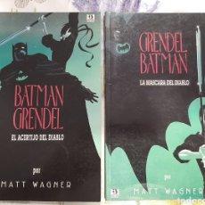 Cómics: BATMAN GRENDEL COMPLETA 2 VOLÚMENES EDICIONES 5. Lote 209289205