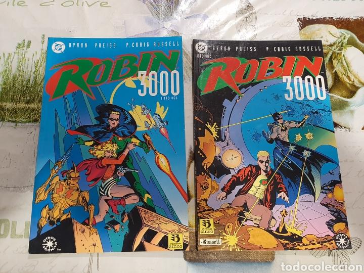 ROBIN 3000 EDICIONES ZINCO COMPLETA 2 VOLUMENES (Tebeos y Comics - Zinco - Batman)
