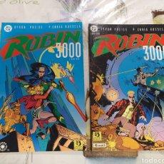 Cómics: ROBIN 3000 EDICIONES ZINCO COMPLETA 2 VOLUMENES. Lote 209296448