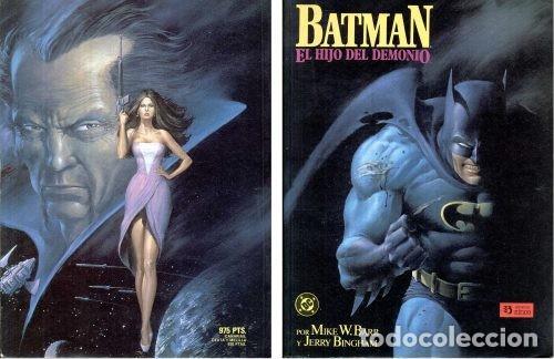 BATMAN: EL HIJO DEL DEMONIO. NOVELA GRAFICA. EDICIONES ZINCO. (Tebeos y Comics - Zinco - Batman)