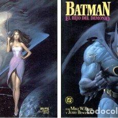 Cómics: BATMAN: EL HIJO DEL DEMONIO. NOVELA GRAFICA. EDICIONES ZINCO.. Lote 209417540