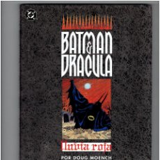 Comics : * BATMAN Y DRACULA* LLUVIA ROJA * DC COMIC - ZINCO 1992 * 1 TOMO IMPECABLE *. Lote 209591728