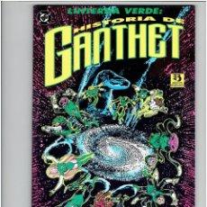 Cómics: * LINTERNA VERDE - HISTORIA DE GANTHET * DC COMICS - ZINCO 1993 * 1 TOMO IMPECABLE *. Lote 209618633