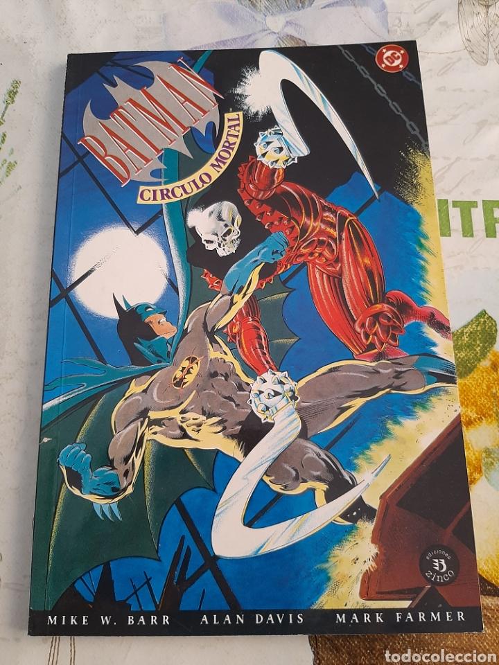 BATMAN CIRCULO MORTAL (Tebeos y Comics - Zinco - Batman)