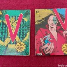 Cómics: COMIC V LOS VISITANTES, 2 RETAPADOS ZINCO,( DEL 6 AL 10 Y DEL 11 AL 16 )LOS VISITANTES COMIC ZINCO. Lote 209678087