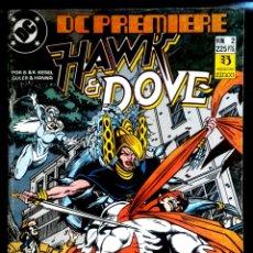 Cómics: HAWK AND DOVE 2 EDICIONES ZINCO. Lote 209738975