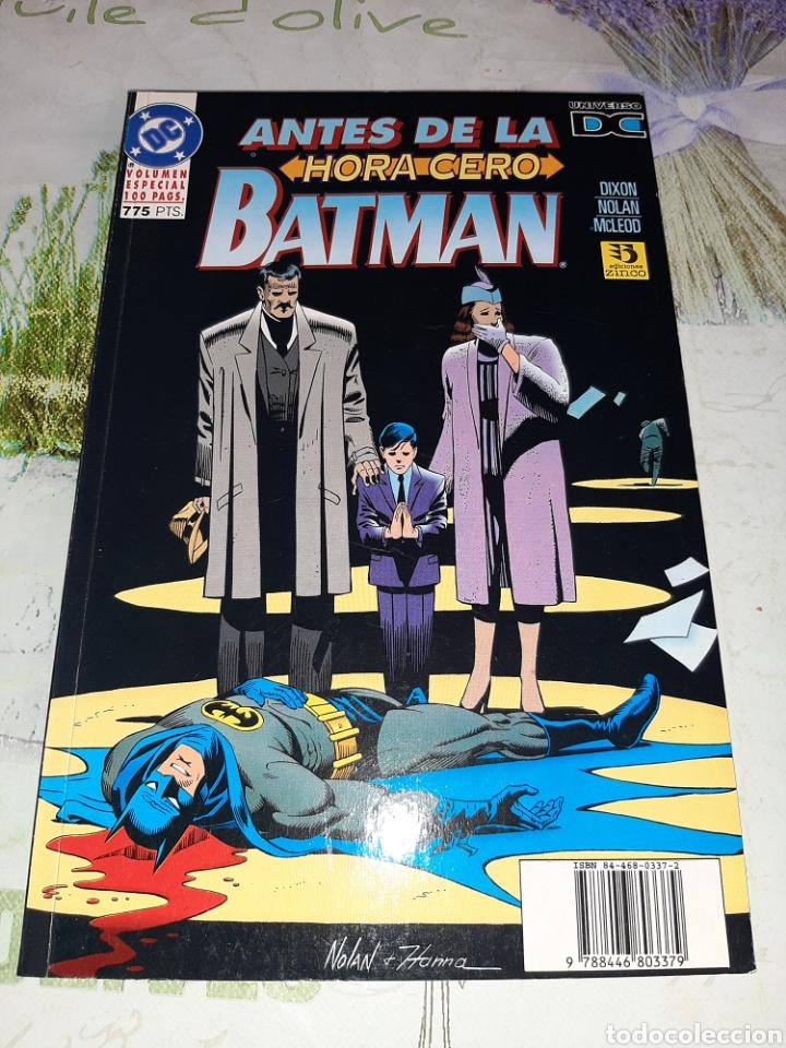 ANTES DE LA HORA CERO BATMAN EDICIONES ZINCO (Tebeos y Comics - Zinco - Batman)