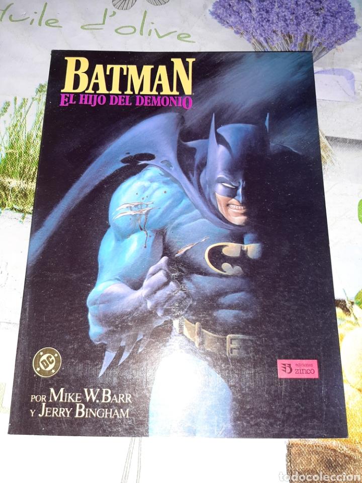 BATMAN EL HIJO DEL DEMONIO (Tebeos y Comics - Zinco - Batman)