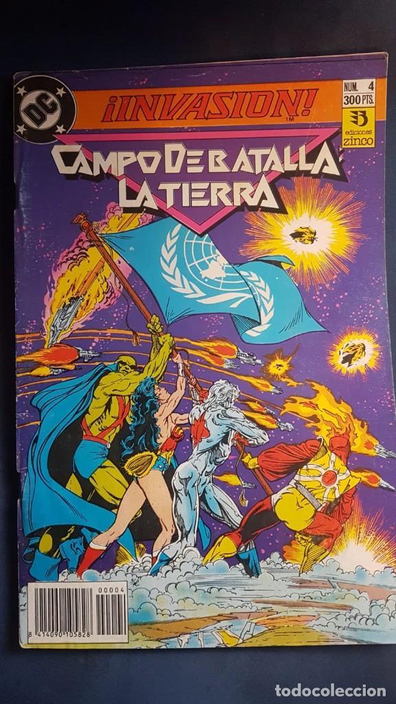 INVASIÓN Nº4 - ZINCO (Tebeos y Comics - Zinco - Batman)