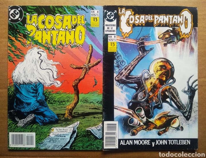 Cómics: Lote La Cosa del Pantano (números 1-2-4-6-8-9 de la maxiserie de 12 episodios por Alan Moore) - Foto 4 - 90961570