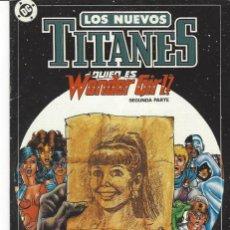 Cómics: NUEVOS TITANES VOL. II Nº 11 - COMO NUEVO !!. Lote 210101475