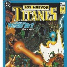 Cómics: NUEVOS TITANES VOL. II Nº 13 - COMO NUEVO !!. Lote 210101530