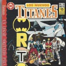 Cómics: NUEVOS TITANES VOL. II Nº 19 - COMO NUEVO !!. Lote 265916768