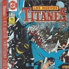 Cómics: NUEVOS TITANES VOL. II Nº 20 - COMO NUEVO !!. Lote 210101890