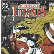 Cómics: NUEVOS TITANES VOL. II Nº 21 - COMO NUEVO !!. Lote 210101945