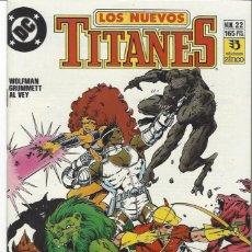 Cómics: NUEVOS TITANES VOL. II Nº 22 - COMO NUEVO !!. Lote 242488905