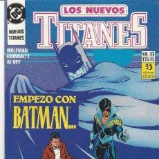 Cómics: NUEVOS TITANES VOL. II Nº 23 - COMO NUEVO !!. Lote 210102012