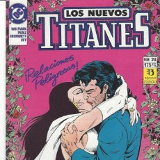 Cómics: NUEVOS TITANES VOL. II Nº 24 - COMO NUEVO !!. Lote 210102062