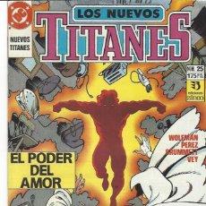 Cómics: NUEVOS TITANES VOL. II Nº 25 - COMO NUEVO !!. Lote 210102083