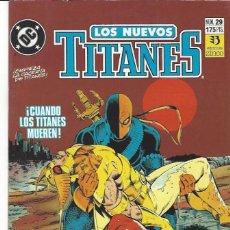 Cómics: NUEVOS TITANES VOL. II Nº 29 - COMO NUEVO !!. Lote 210102250