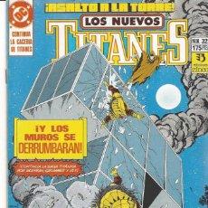 Cómics: NUEVOS TITANES VOL. II Nº 32 - COMO NUEVO !!. Lote 231573925