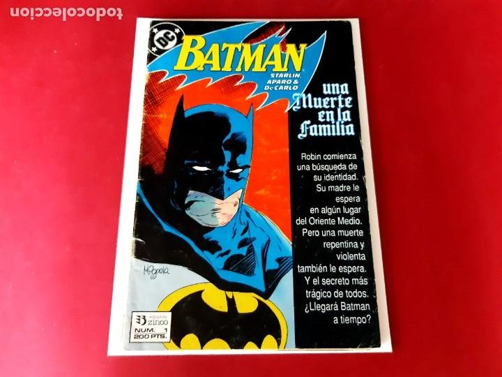 Cómics: BATMAN Nº1 -EDITORIAL ZINCO-DC COMICS-1988 - Foto 1 - 210112107