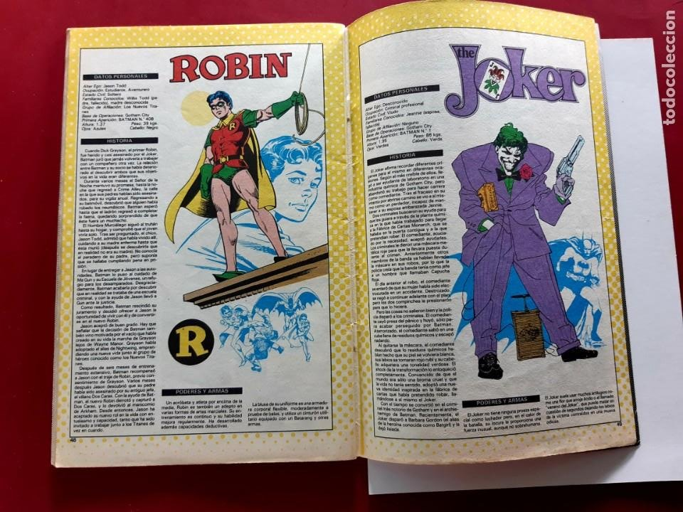 Cómics: BATMAN Nº1 -EDITORIAL ZINCO-DC COMICS-1988 - Foto 3 - 210112107