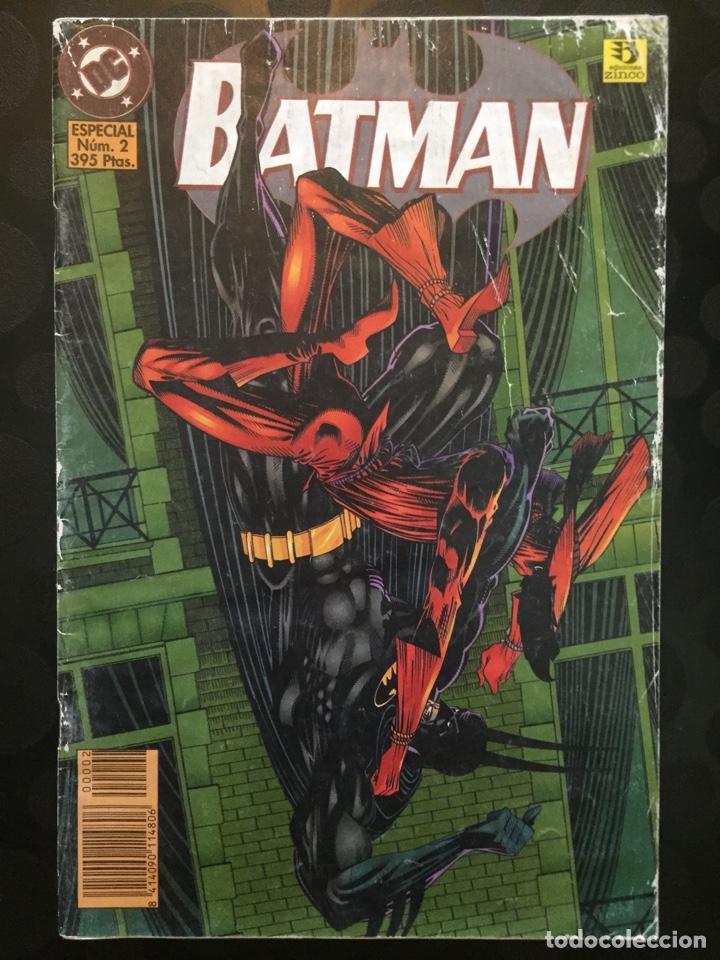 BATMAN ESPECIAL N.2 ESPANTAPÁJAROS : ALAS OSCURAS SOBREVUELAN EL MIEDO ( 1996 ). (Tebeos y Comics - Zinco - Batman)