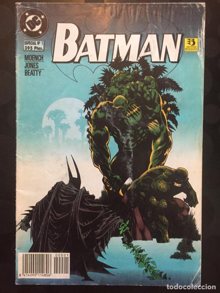 BATMAN ESPECIAL N.1 KILLER CROC : TREN RÁPIDO HACIA LA HÚMEDA OSCURIDAD ( 1996 ). (Tebeos y Comics - Zinco - Batman)
