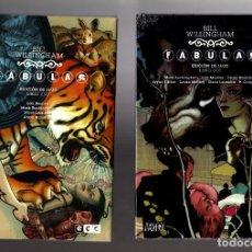 Cómics: FABULAS DE BILL WILLINGHAM 1 AL 15 COMPLETA / ECC / DC VERTIGO/ EDICION DE LUJO NUEVOS Y PRECINTADOS. Lote 192085560