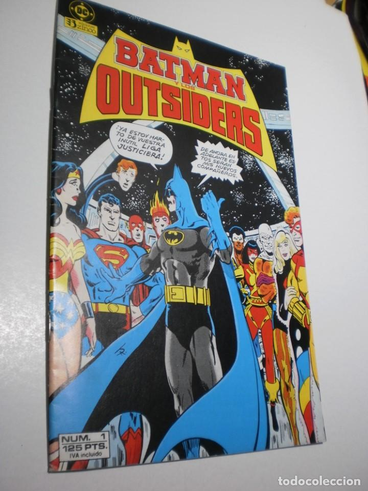 BATMAN OUTSIDERS Nº 1 DC 1986 (BUEN ESTADO, SEMINUEVO) (Tebeos y Comics - Zinco - Batman)