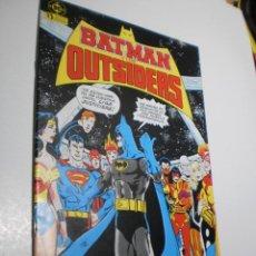 Cómics: BATMAN OUTSIDERS Nº 1 DC 1986 (BUEN ESTADO, SEMINUEVO). Lote 210160375