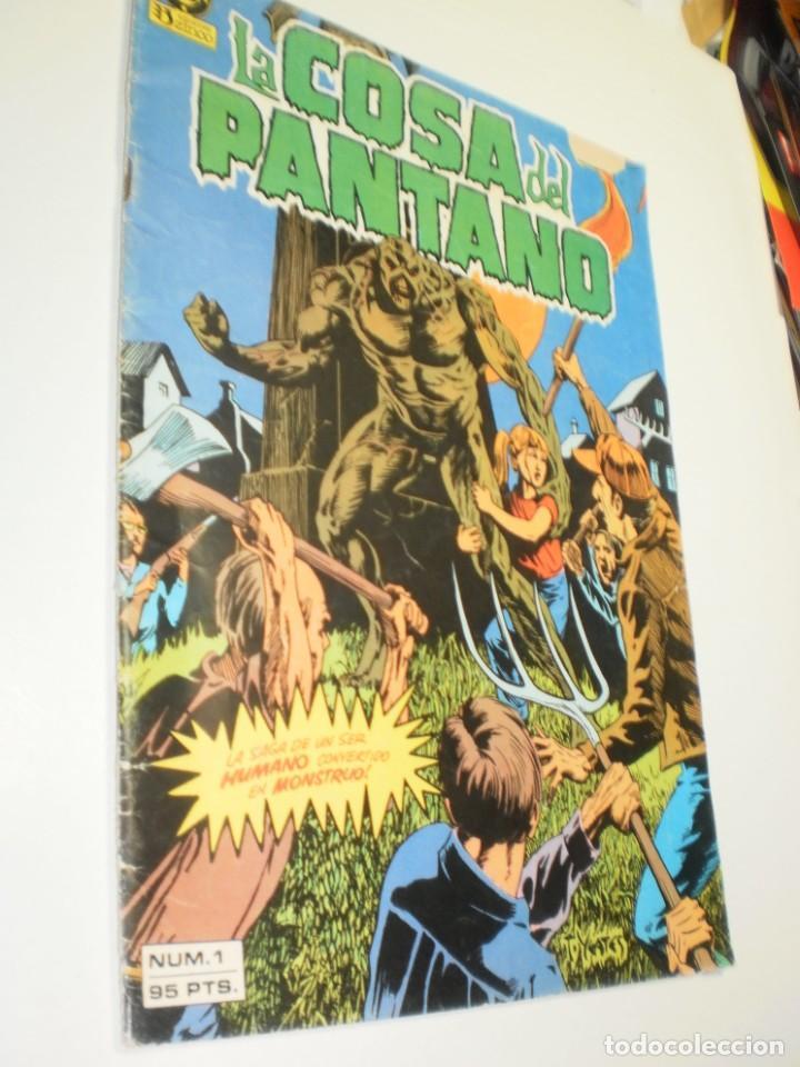 LA COSA DEL PANTANO Nº 1 ZINCO DC 1984 (ESTADO NORMAL CON ALGÚN DEFECTO) (Tebeos y Comics - Zinco - Cosa del Pantano)
