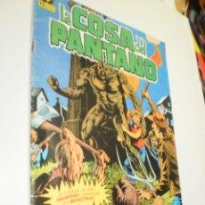 Cómics: LA COSA DEL PANTANO Nº 1 ZINCO DC 1984 (ESTADO NORMAL CON ALGÚN DEFECTO). Lote 210162101