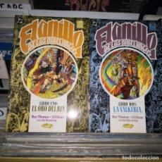Cómics: EL ANILLO DE LOS NIBELUNGOS-ROY THOMAS Y GIL KANE-TOMOS 1 Y 2 ,ZINCO. Lote 210374746
