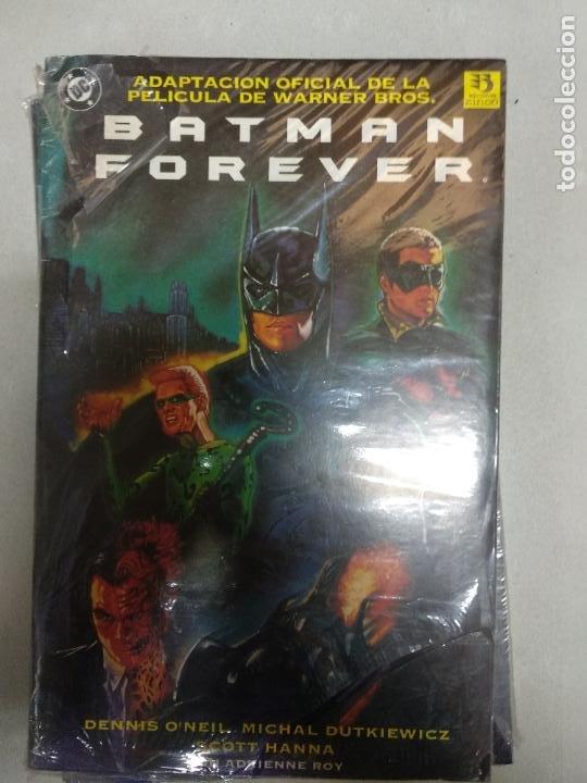 BATMAN FOREVER : ADAPTACIÓN OFICIAL DE LA PELÍCULA DE WARNER BROS. ( 1995 ). (Tebeos y Comics - Zinco - Batman)