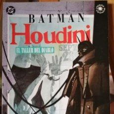 Cómics: BATMAN HOUDINI - EL TALLER DEL DIABLO.. Lote 210442978