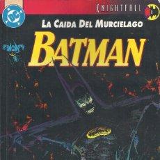 Cómics: BATMAN LA CAIDA DEL MURCIÉLAGO TOMO 1. Lote 210525902