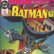 Cómics: BATMAN GENESIS OSCURA TOMO 1. Lote 210526050